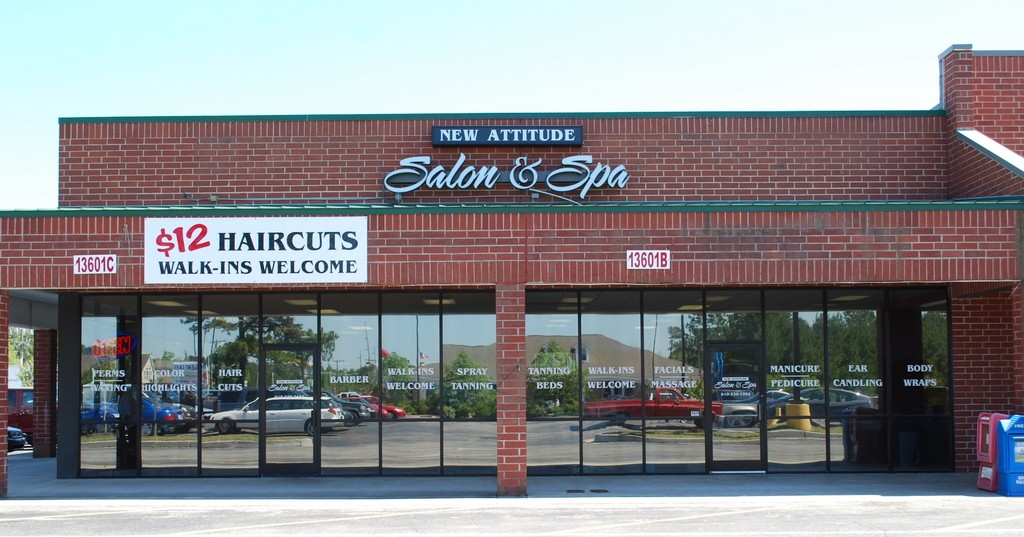 new attitude salon spa location and map to the salon